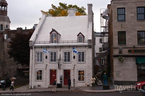 Столица французской Канады. …
