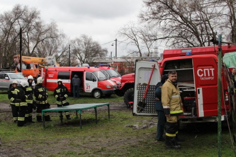 В Таганроге взорвался жилой …