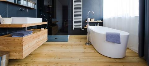 Ламинат – в ванную комнату?