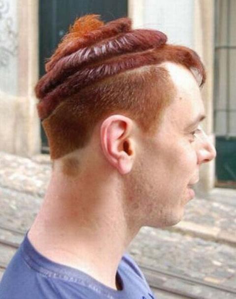 Причудливые и смешные причёски