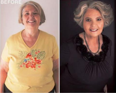 Фотограф доказала, что причёска и макияж превращают любую женщину в фотомодель!