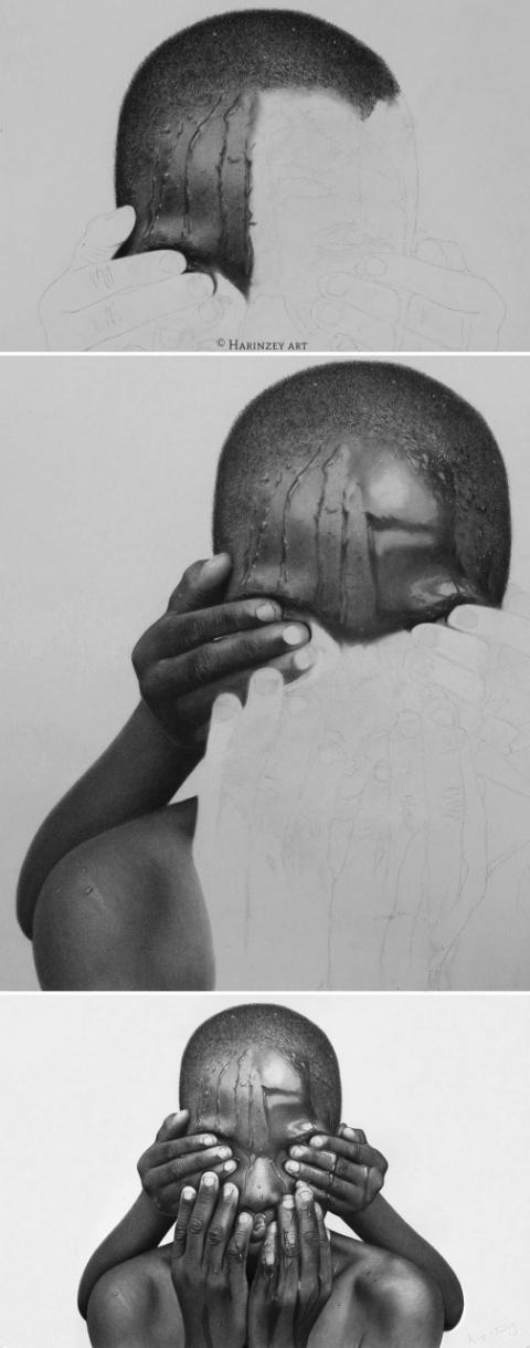 Рисунки простым карандашом и…