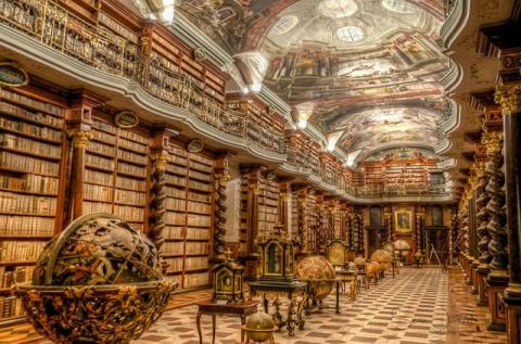 Самая красивая библиотека в …