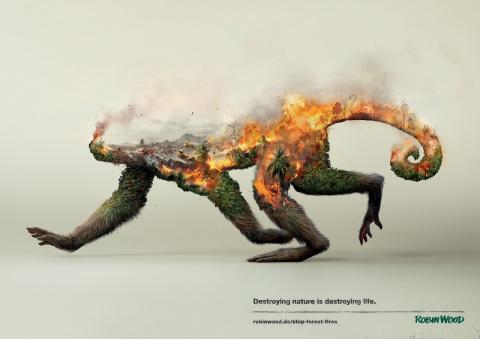 «Уничтожая природу, уничтожа…