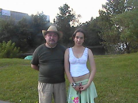 Я с Еленой на Новочеркасском бульваре