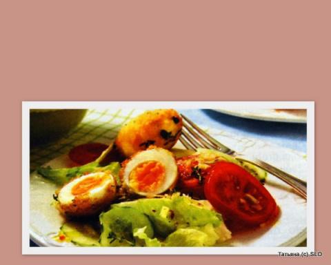 Яйца в панировке. Фото-рецепт.