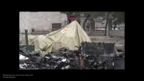 Сирия: появилось видео с мес…