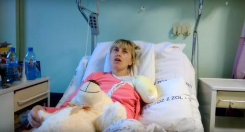 Украинка лишилась руки из-за жалости к стиральной машинке