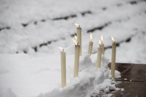 Я плачу...В России объявлен общенациональный траур