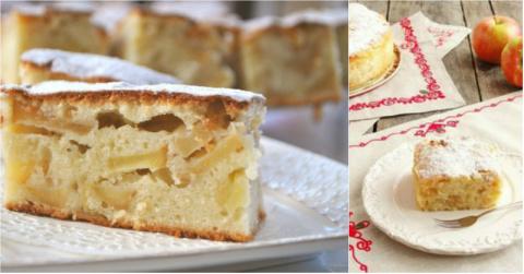 Скороспелый яблочный пирог п…