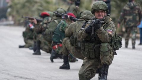 ВС РФ учат военную полицию С…