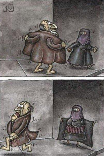 Карикатурки задорной подборо…