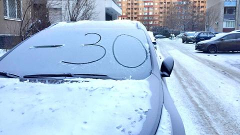 Инструкция: как завести автомобиль, когда на улице минус тридцать