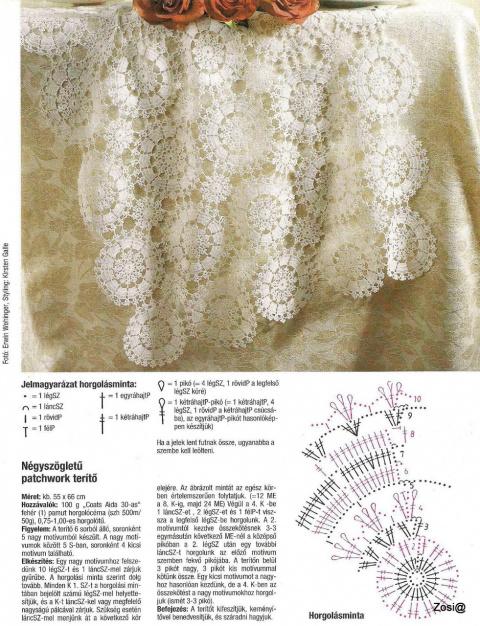 Вязание крючком- Салфетки.