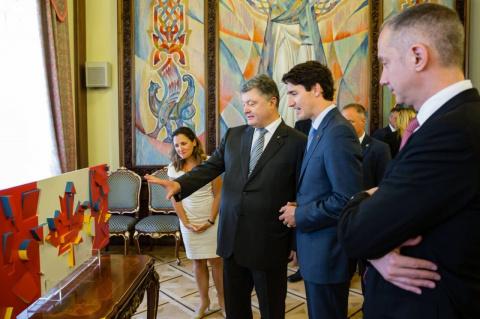 Порошенко: Канаду создали украинцы