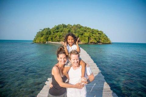 Домохозяйка из Австралии купила необитаемый остров и превратила его в настоящий рай