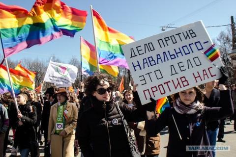 А. Навальный включил задний …
