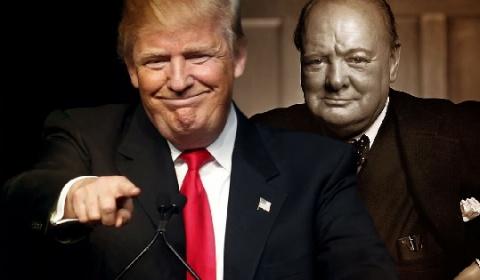 Бюст Черчилля вернулся вОва…