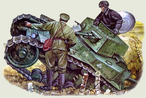 Использование танков Т-18 (МС-1) во Второй мировой войне
