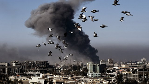 Удар коалиции США по Сирии: …