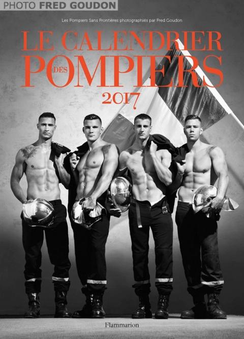 Французские пожарные выпустили самый горячий календарь года