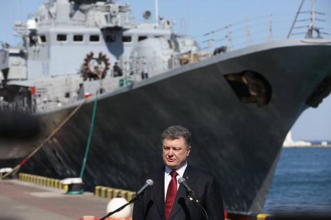 Военные США строятся в Украине
