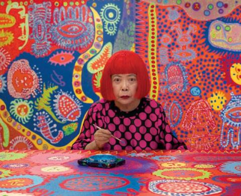 Яёи Кусама – 88-летняя худож…