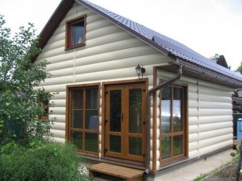 Отделка деревянного дома сво…