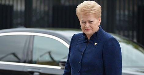 Президент Литвы обратилась с…