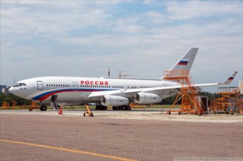 Новый Ил-96 для Управделами …