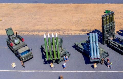 Российские системы ПВО во всей красе