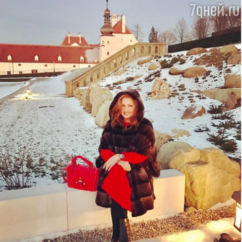 Анна Нетребко попала в монастырь