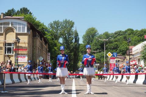 В Кисловодске открыт мост через реку Ольховка