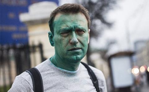 Навальный получил химический…