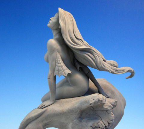 Современный скульптор Марк Ньюман
