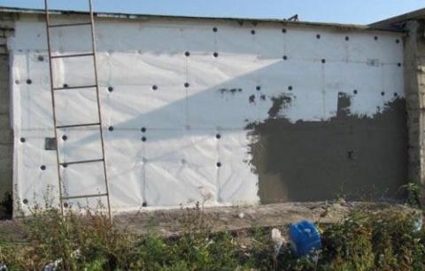 Утепление стен гаража к зиме