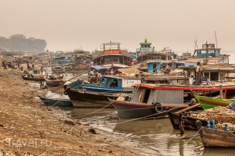 Бирма. Жизнь на пляже