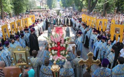 Всеукраинский крестный ход к…