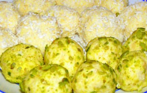 Индийские сладости или рафаэлло по-индийски. Фото-рецепт. Olga Dell