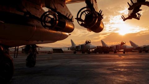 Российский генерал рассказал о количестве самолетов ВКС РФ в Сирии