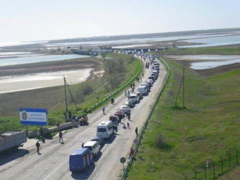 Украинцы массово ринулись в …