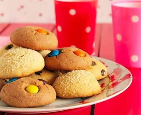 Печенье с M&M's