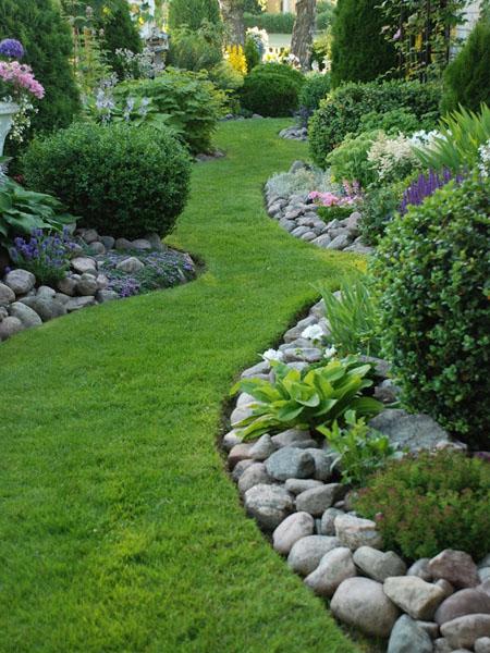 Создаем красивый дизайн сада…