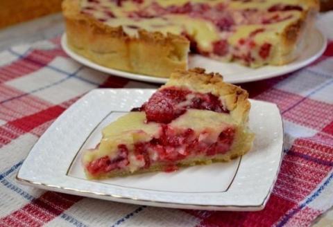 Цветаевский пирог с малиново…