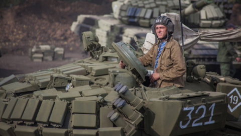 Горящие танки ВСУ: бронетехн…