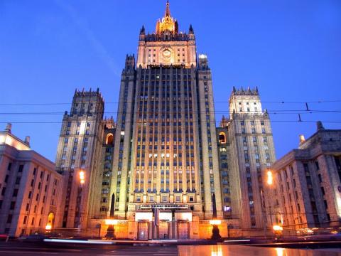 """МИД: посольство США - спонсор """"пятой колонны"""" в России"""