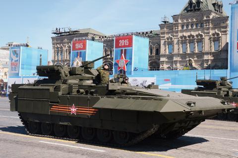 Новейшая российская БМП Т-15…