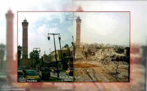 Рай и ад Сирии: фотосравнени…