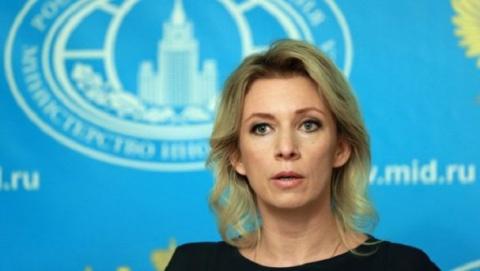 Украинцы ответили Захаровой …