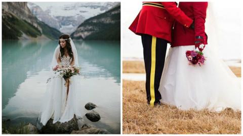Какие свадебные фотографии принято делать в Канаде